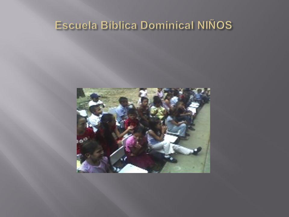 Escuela Bíblica Dominical NIÑOS