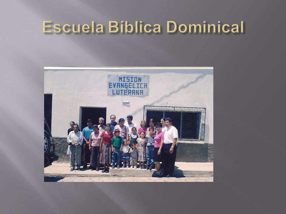 Escuela Bíblica Dominical