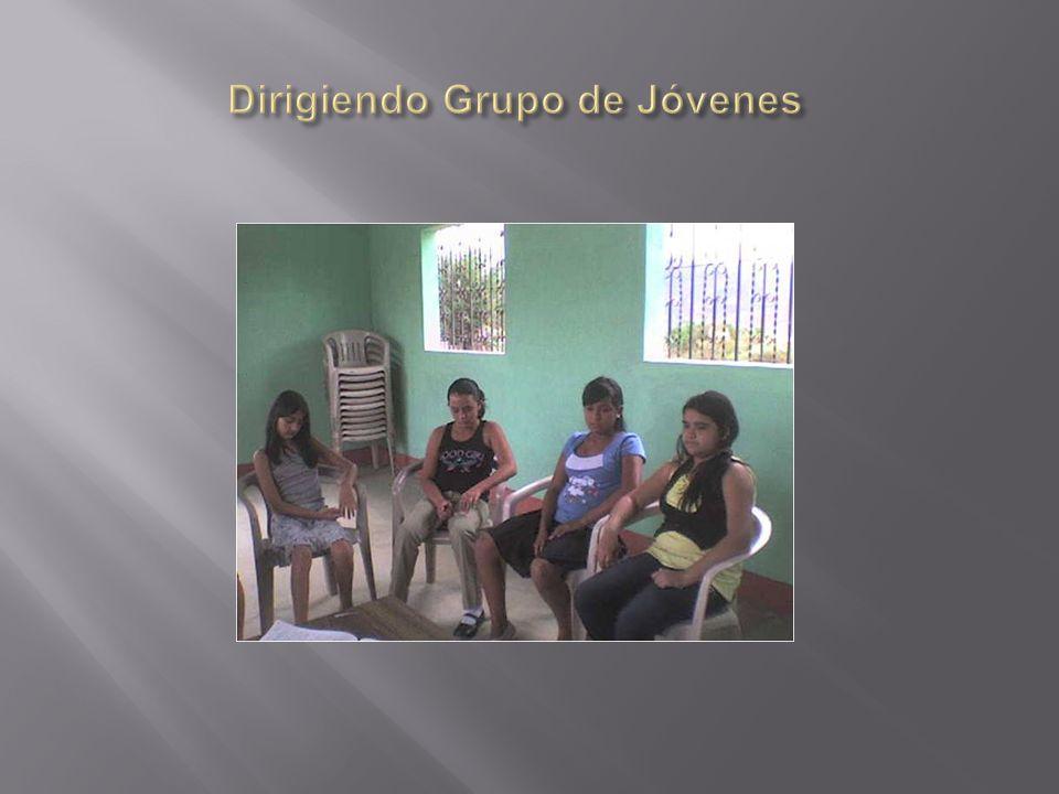 Dirigiendo Grupo de Jóvenes