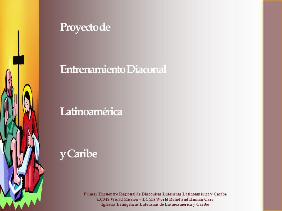 Proyecto de Entrenamiento Diaconal Latinoamérica y Caribe