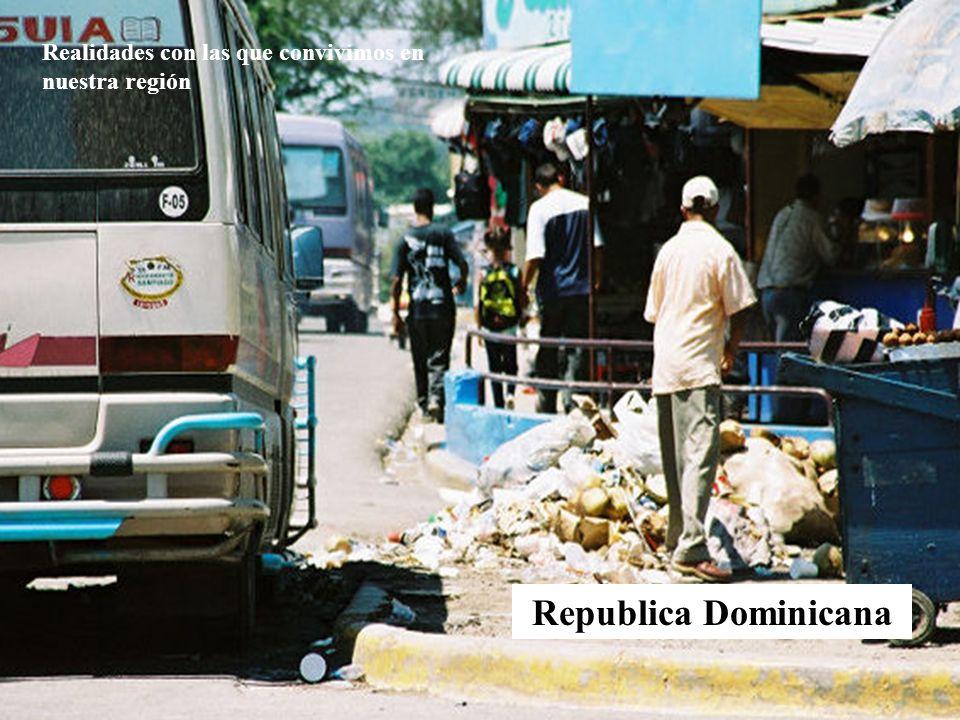 Realidades con las que convivimos en nuestra región