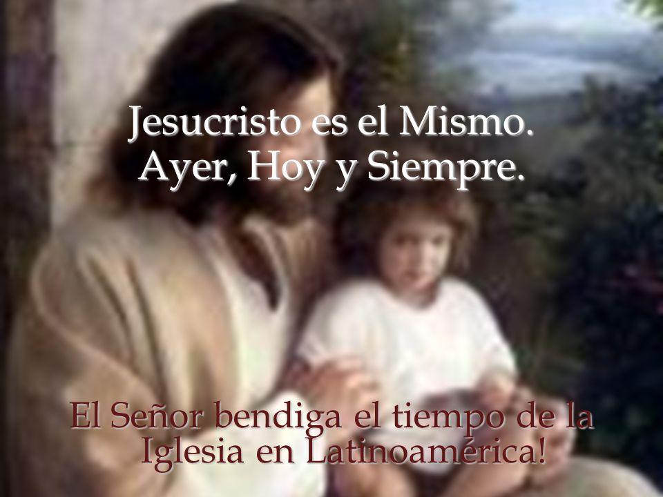 El Señor bendiga el tiempo de la Iglesia en Latinoamérica!