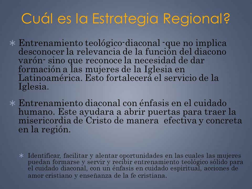 Cuál es la Estrategia Regional