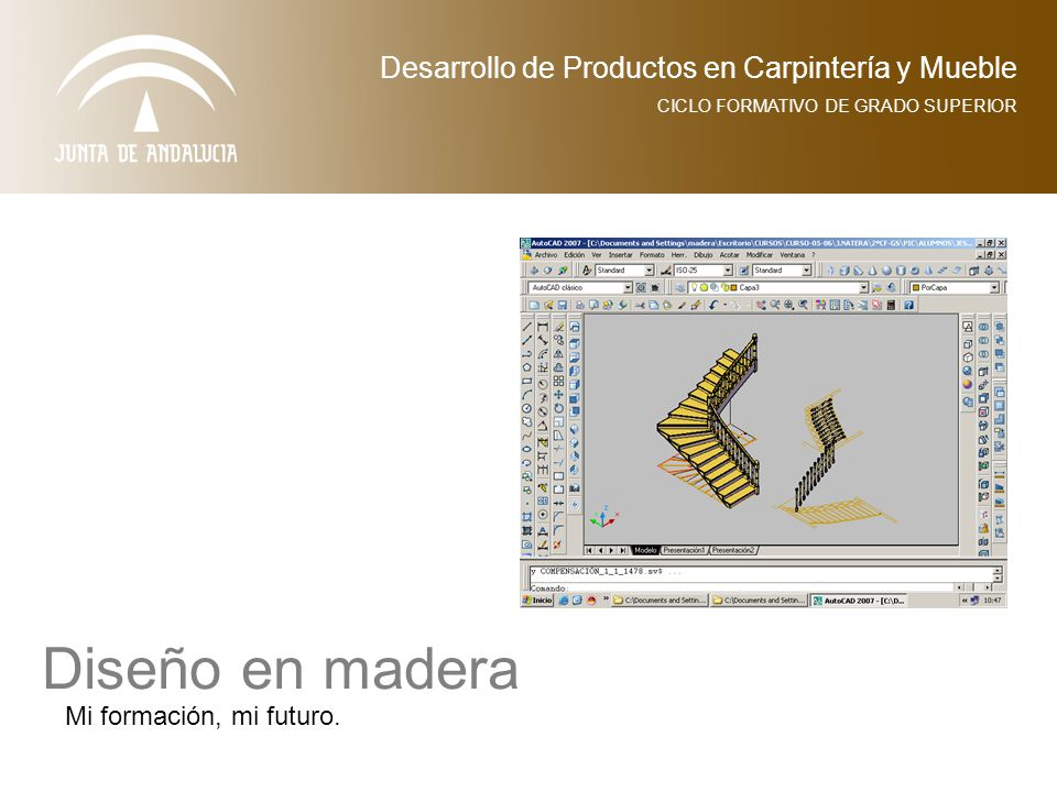 Dise o en madera desarrollo de productos en carpinter a y for Ciclo superior diseno de interiores
