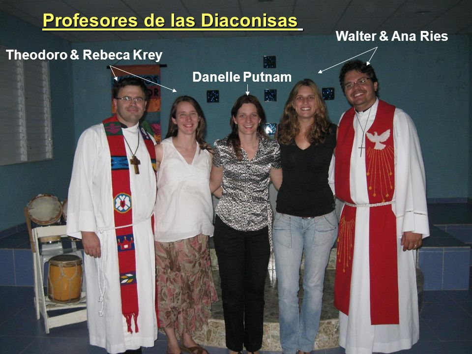 Profesores de las Diaconisas