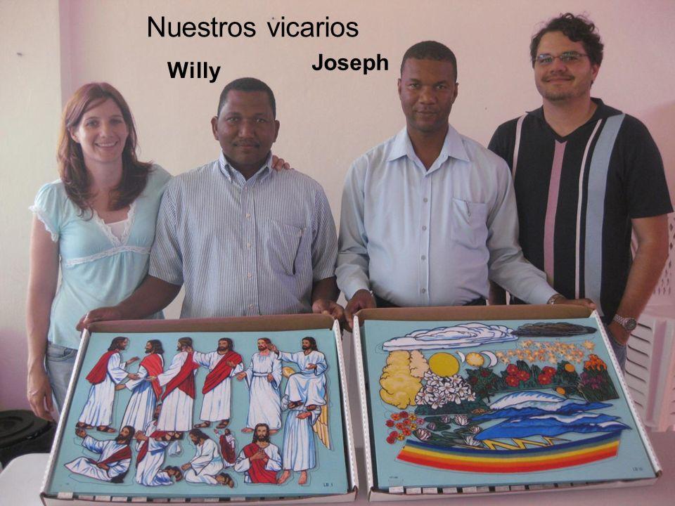 Nuestros vicarios Willy Joseph
