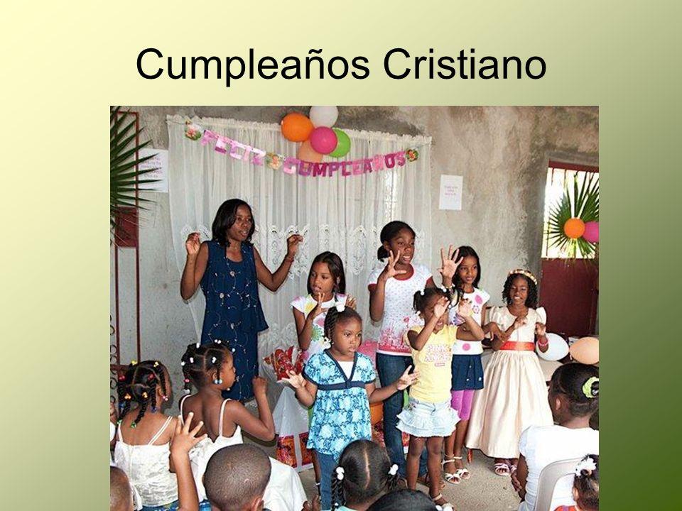Cumpleaños Cristiano