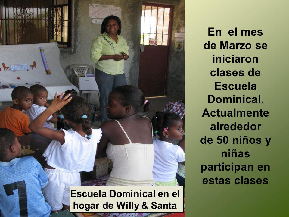 Actualmente alrededor de 50 niños y niñas participan en estas clases