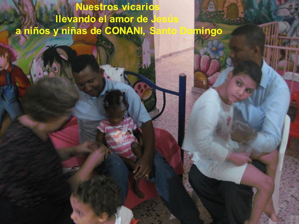 llevando el amor de Jesús a niños y niñas de CONANI, Santo Domingo