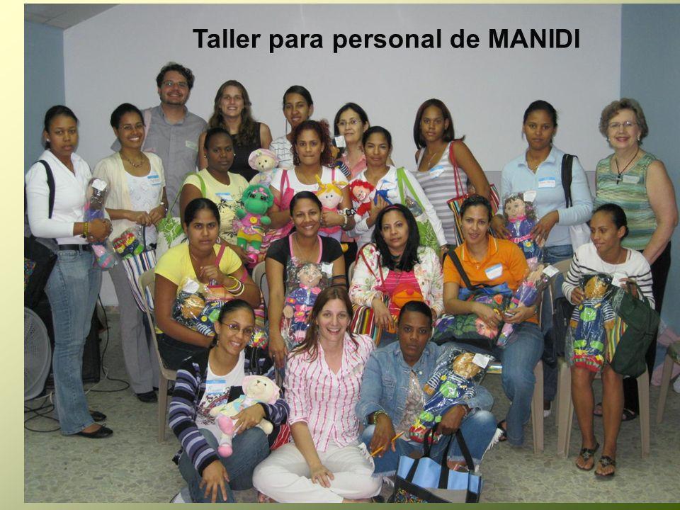 Taller para personal de MANIDI