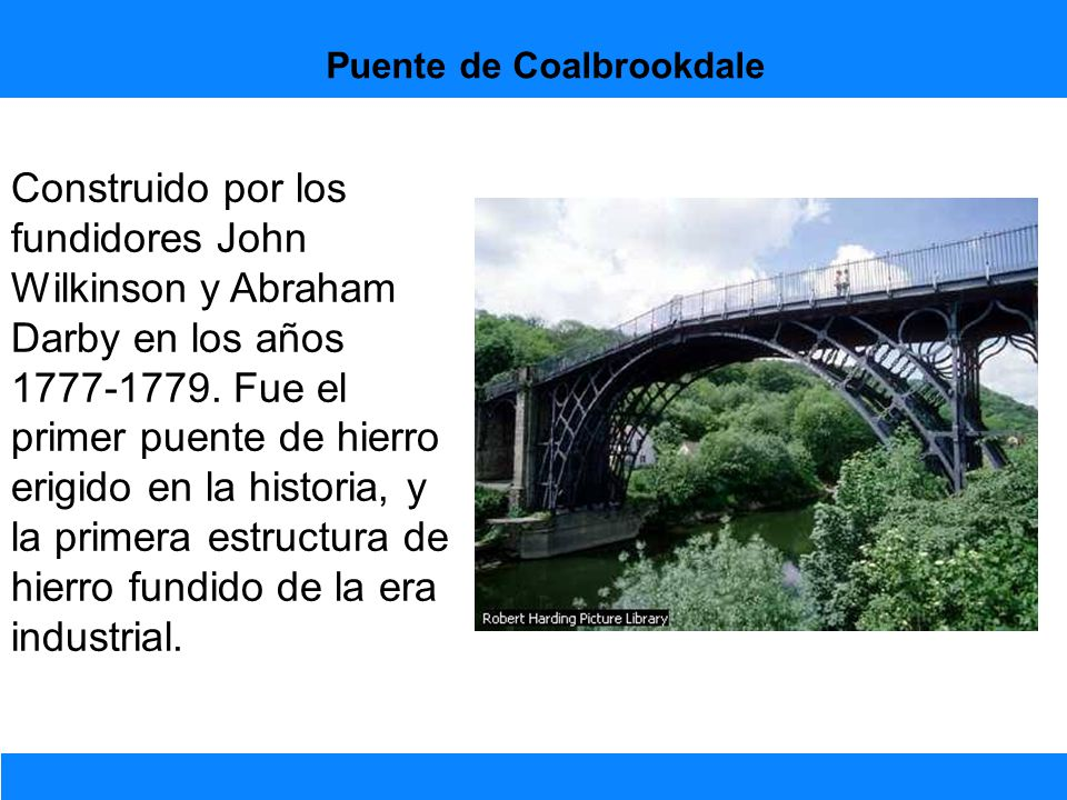 Puente de Coalbrookdale