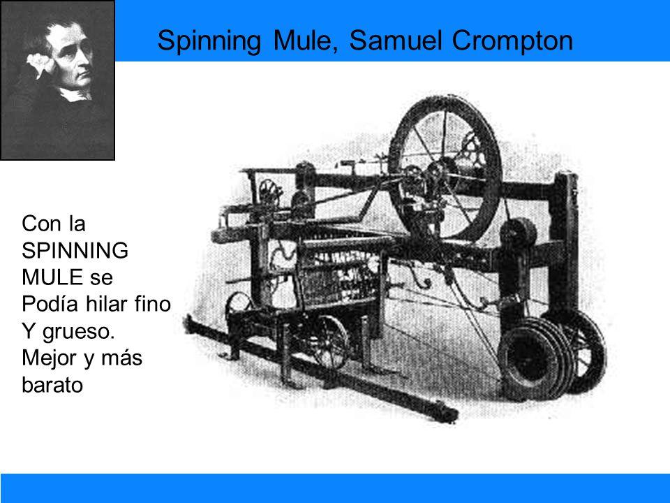 Spinning Mule, Samuel Crompton