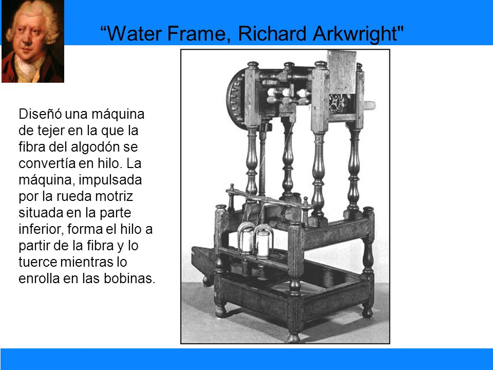 Water Frame, Richard Arkwright