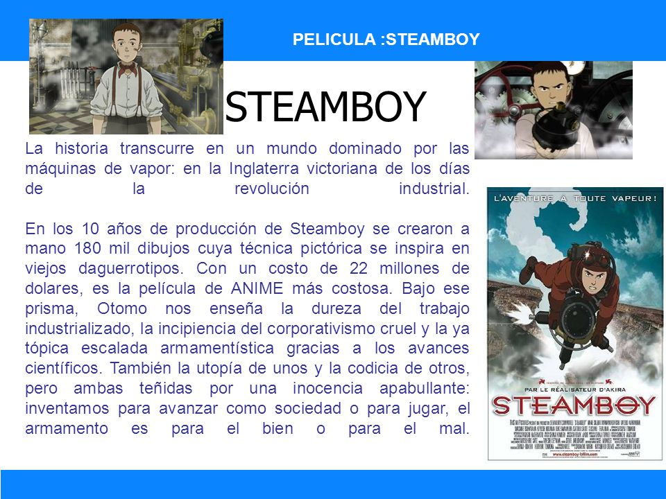STEAMBOY PELICULA :STEAMBOY