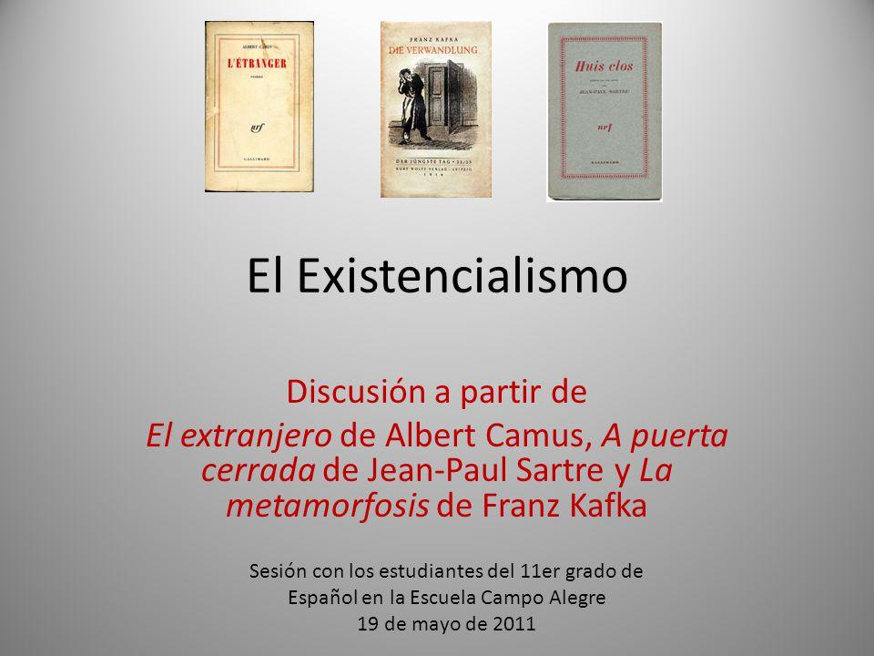 El Existencialismo Discusión a partir de