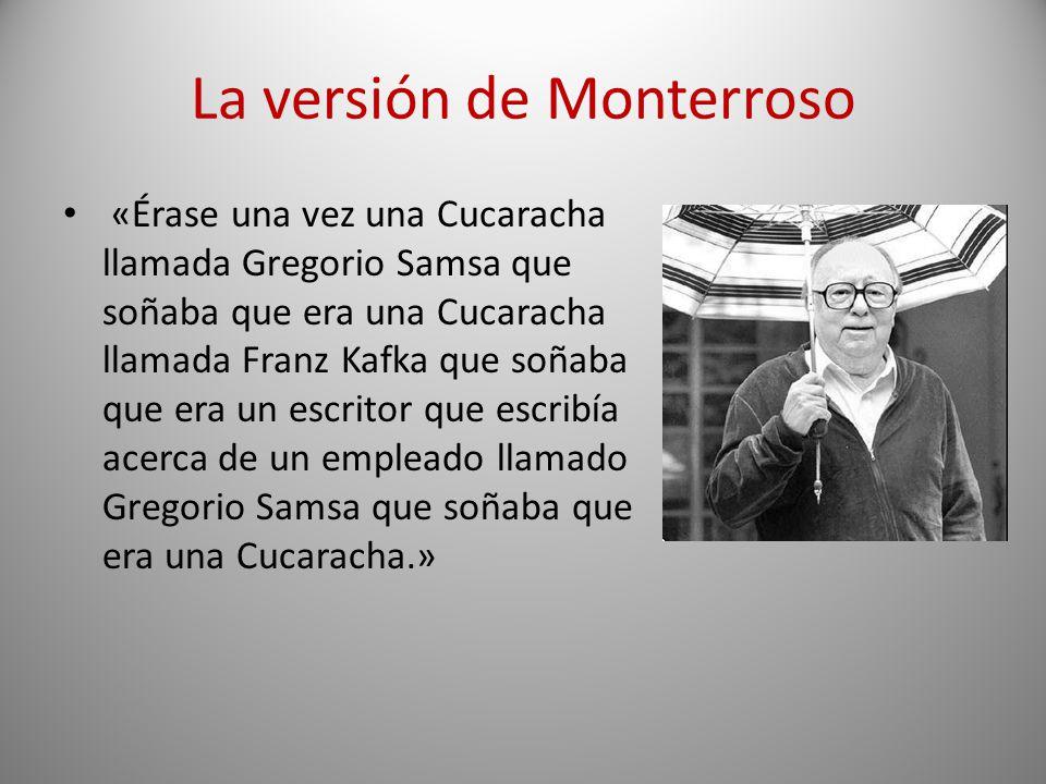 La versión de Monterroso