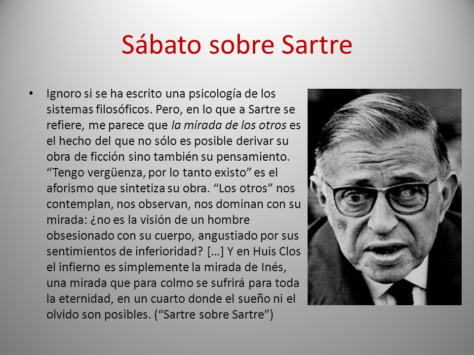 Sábato sobre Sartre