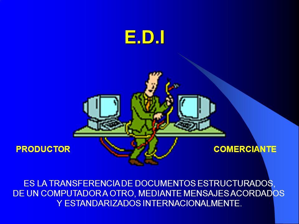 E.D.I PRODUCTOR COMERCIANTE