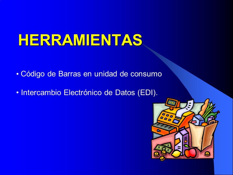 HERRAMIENTAS Código de Barras en unidad de consumo