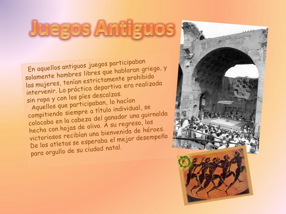 Juegos Antiguos