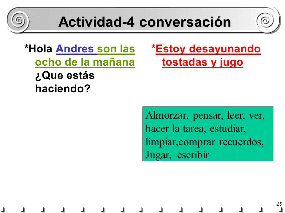Actividad-4 conversación