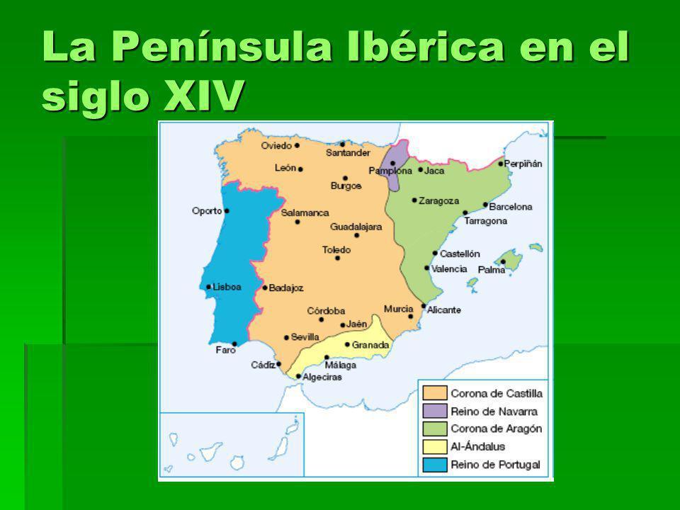 La Península Ibérica en el siglo XIV