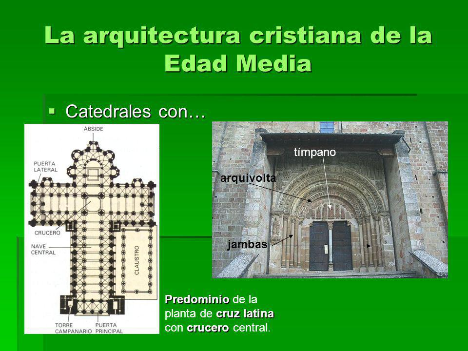 La arquitectura cristiana de la Edad Media