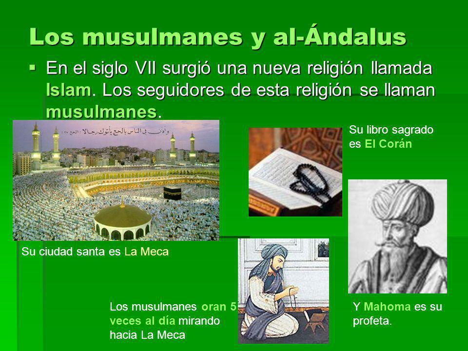 Los musulmanes y al-Ándalus