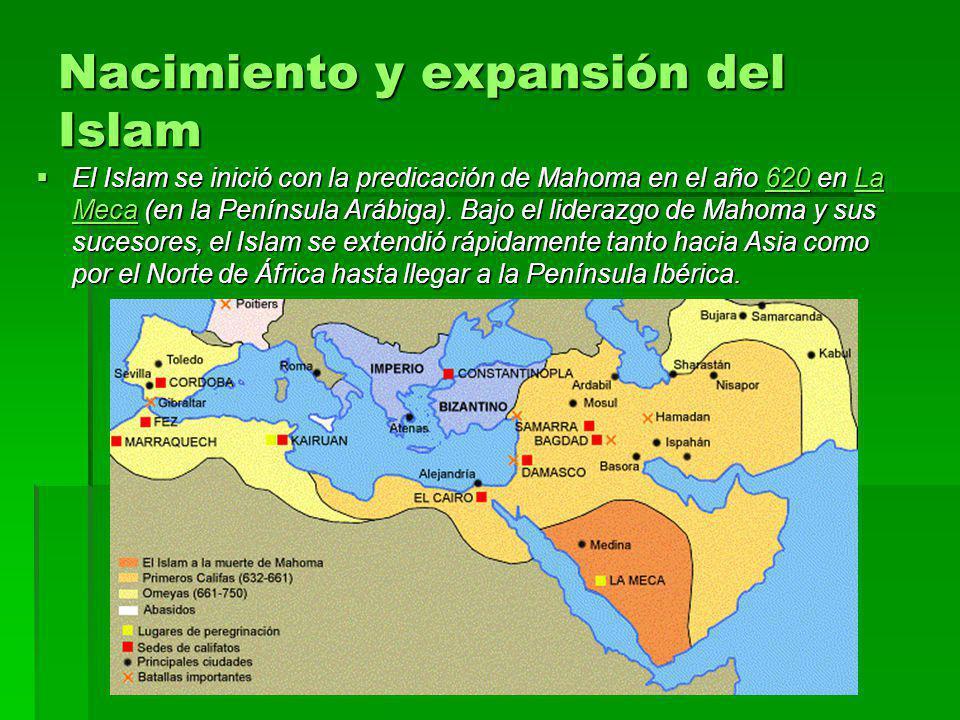 Nacimiento y expansión del Islam