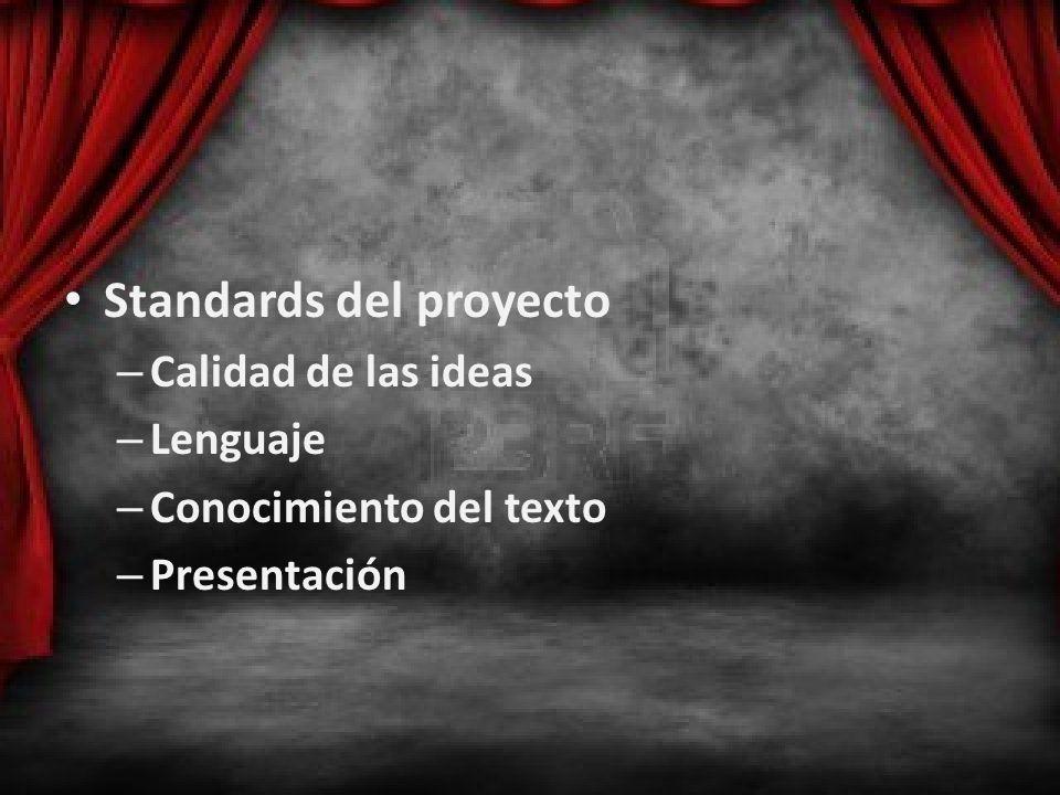 Standards del proyecto