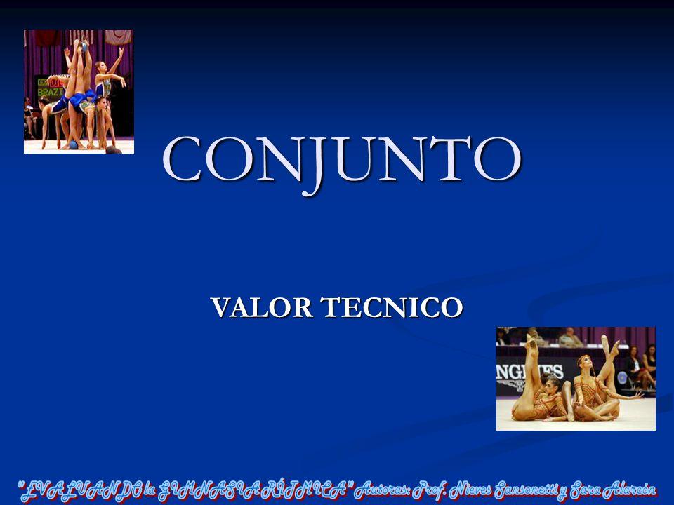 CONJUNTO VALOR TECNICO