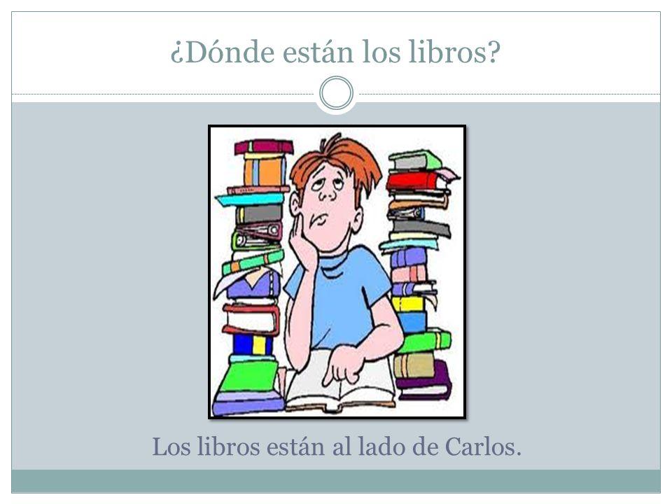 ¿Dónde están los libros
