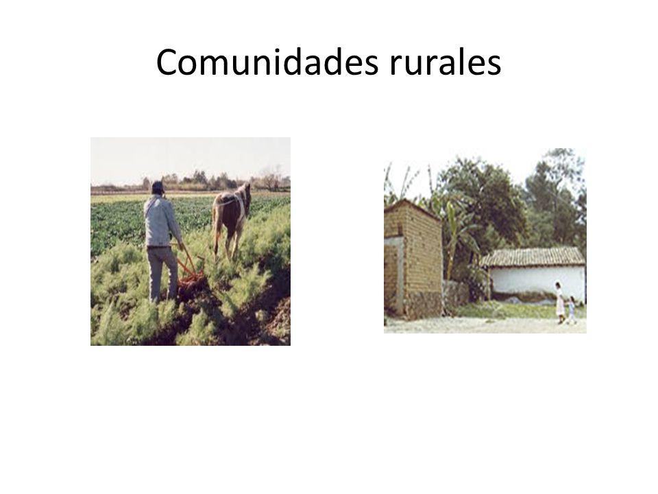 Comunidades rurales