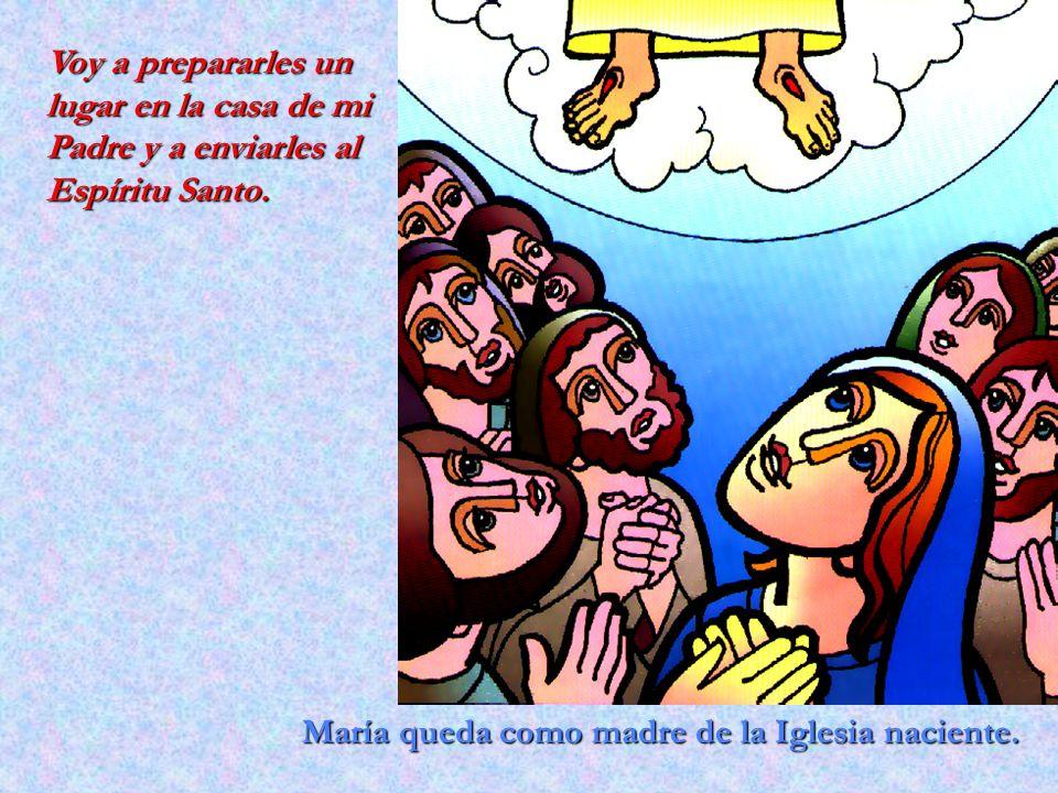 Voy a prepararles un lugar en la casa de mi Padre y a enviarles al Espíritu Santo.