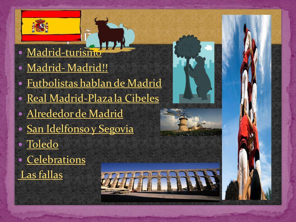 España Madrid-turismo Madrid- Madrid!! Futbolistas hablan de Madrid