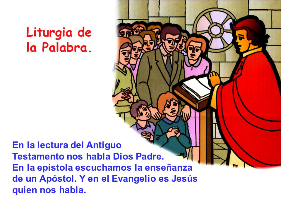 Liturgia de la Palabra.