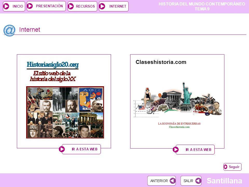 Internet Claseshistoria.com Seguir