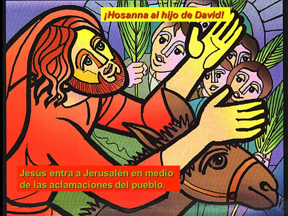¡Hosanna al hijo de David!