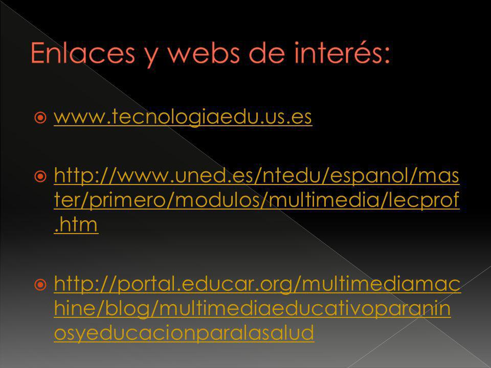 Enlaces y webs de interés: