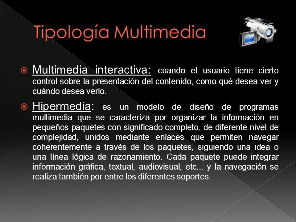 Tipología Multimedia