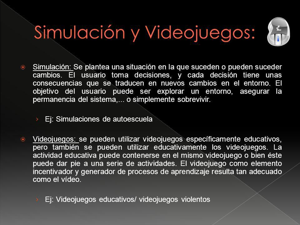 Simulación y Videojuegos: