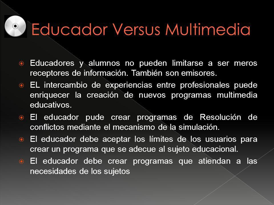 Educador Versus Multimedia