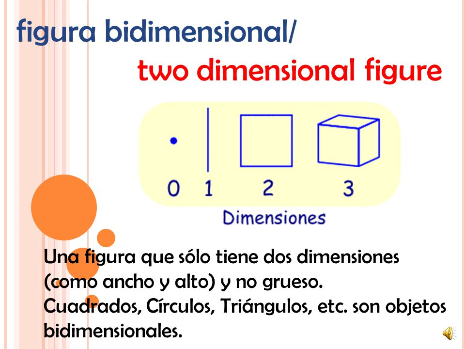 figura bidimensional/ two dimensional figure