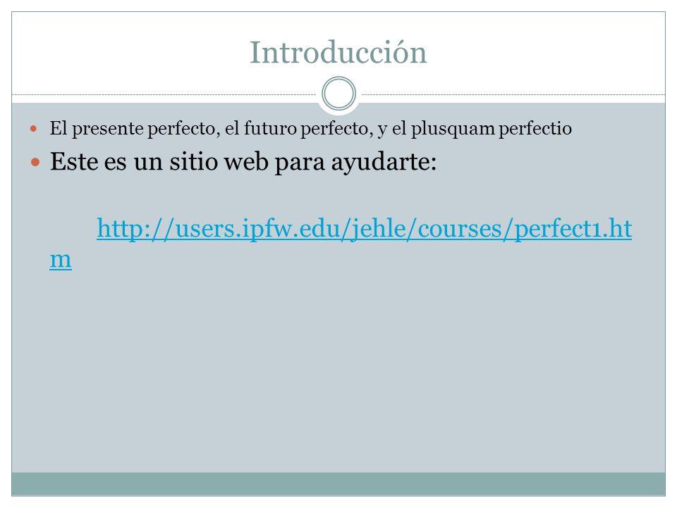 Introducción Este es un sitio web para ayudarte: