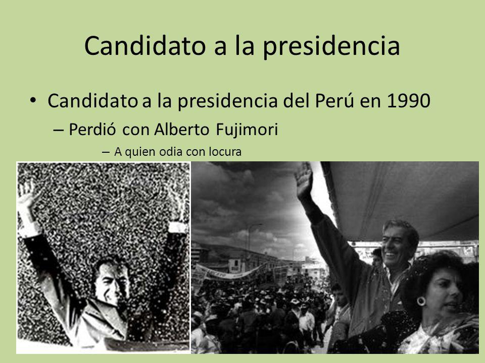 Candidato a la presidencia