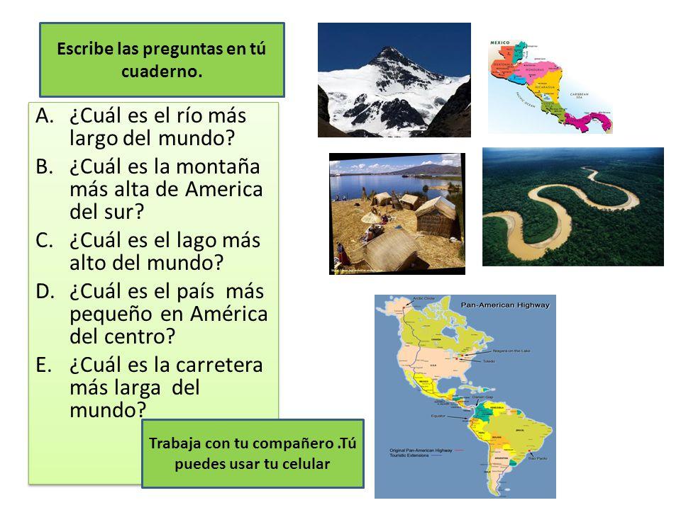 ¿Cuál es el río más largo del mundo