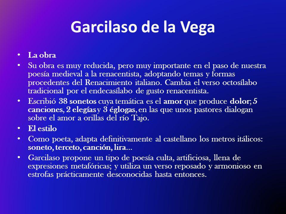 Garcilaso de la Vega La obra