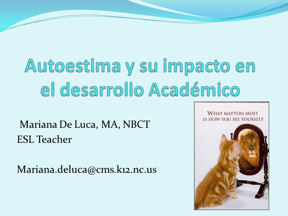 Autoestima y su impacto en el desarrollo Académico