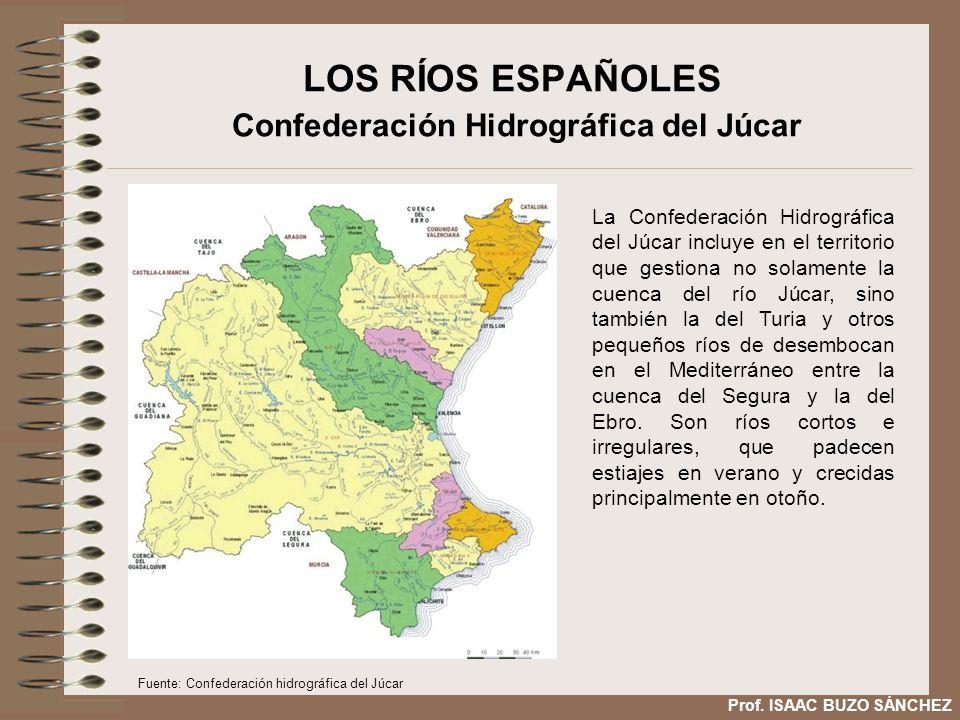 LOS RÍOS ESPAÑOLES Confederación Hidrográfica del Júcar