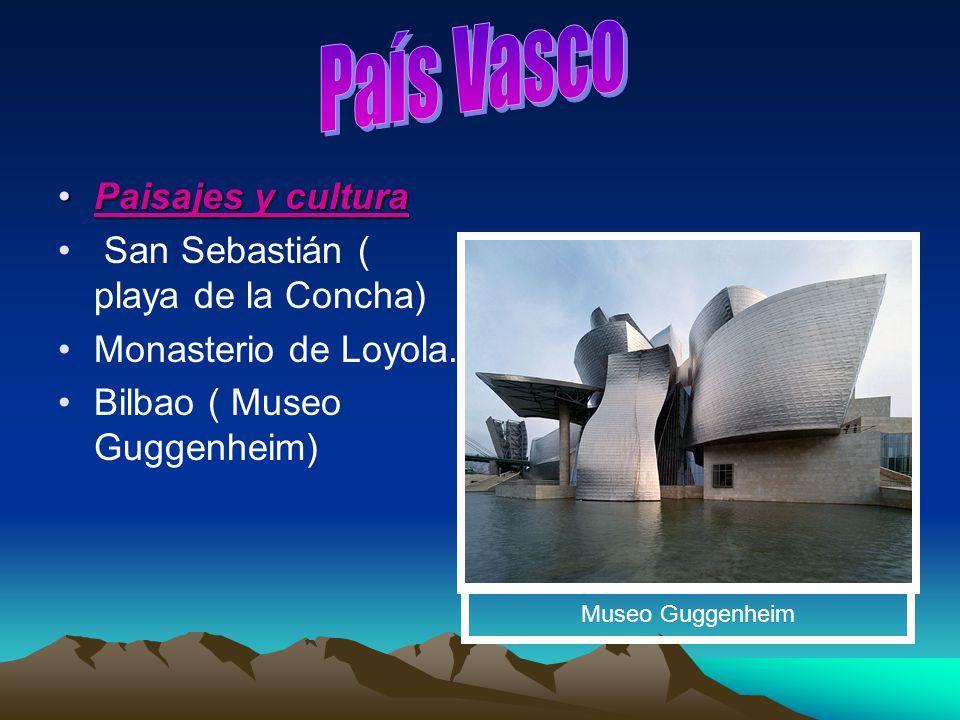 País Vasco Paisajes y cultura San Sebastián ( playa de la Concha)